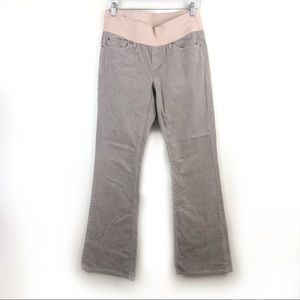 GAP 1969 tan corduroy sexy boot cut pants